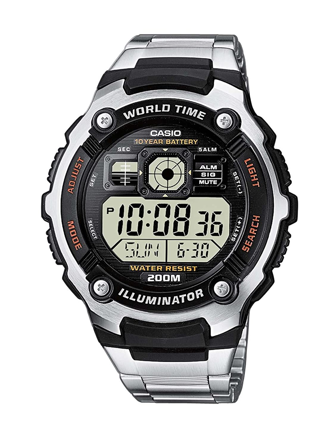 montre homme electronique casio