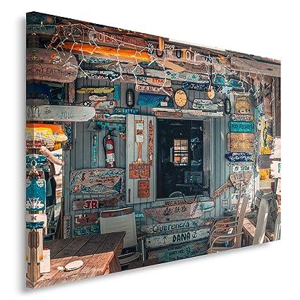 Feeby Cuadro en Lienzo - 1 Parte - 80x120 cm, Imagen Impresión Pintura Decoración Cuadros