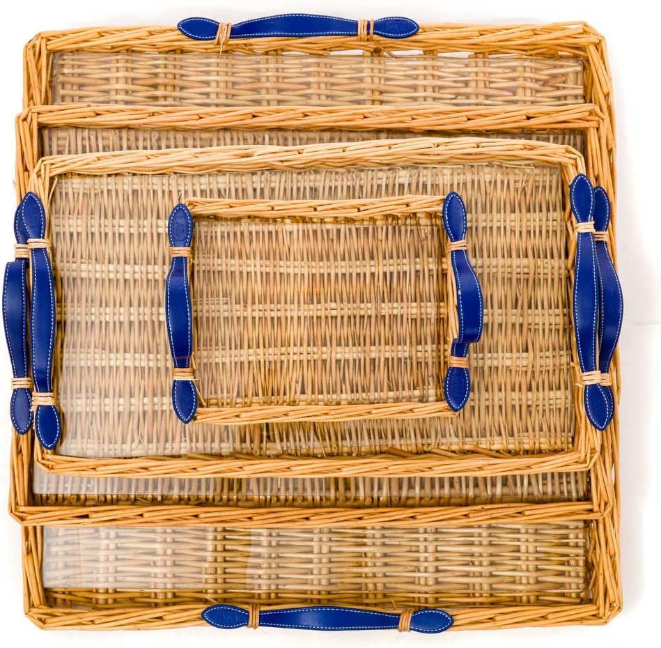 Amanda Lindroth's Signature Island Tray (Small, Blue)