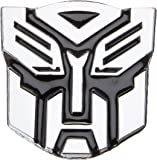 "Autobot Chrome Finish PVC Car Auto Emblem - 2.5"" Tall"
