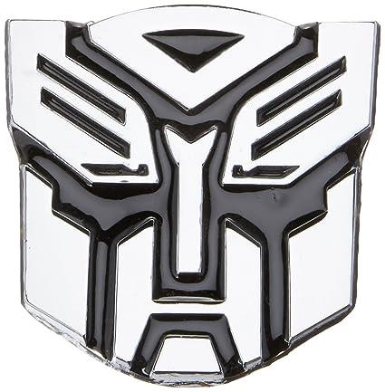 Amazon Transformer Autobot Chrome Finish Car Auto Emblem 2 1
