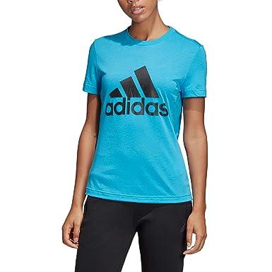 6d248cfa4adba8 adidas Damen Must Haves Badge of Sport Kurzarm Shirt: adidas Performance:  Amazon.de: Bekleidung