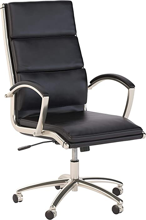 Top 7 Bush Modelo Leather Office Chair