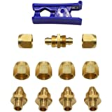 "Metabo Genuine OEM 3//8/"" Air Hose Repair Kit # 115313MX"