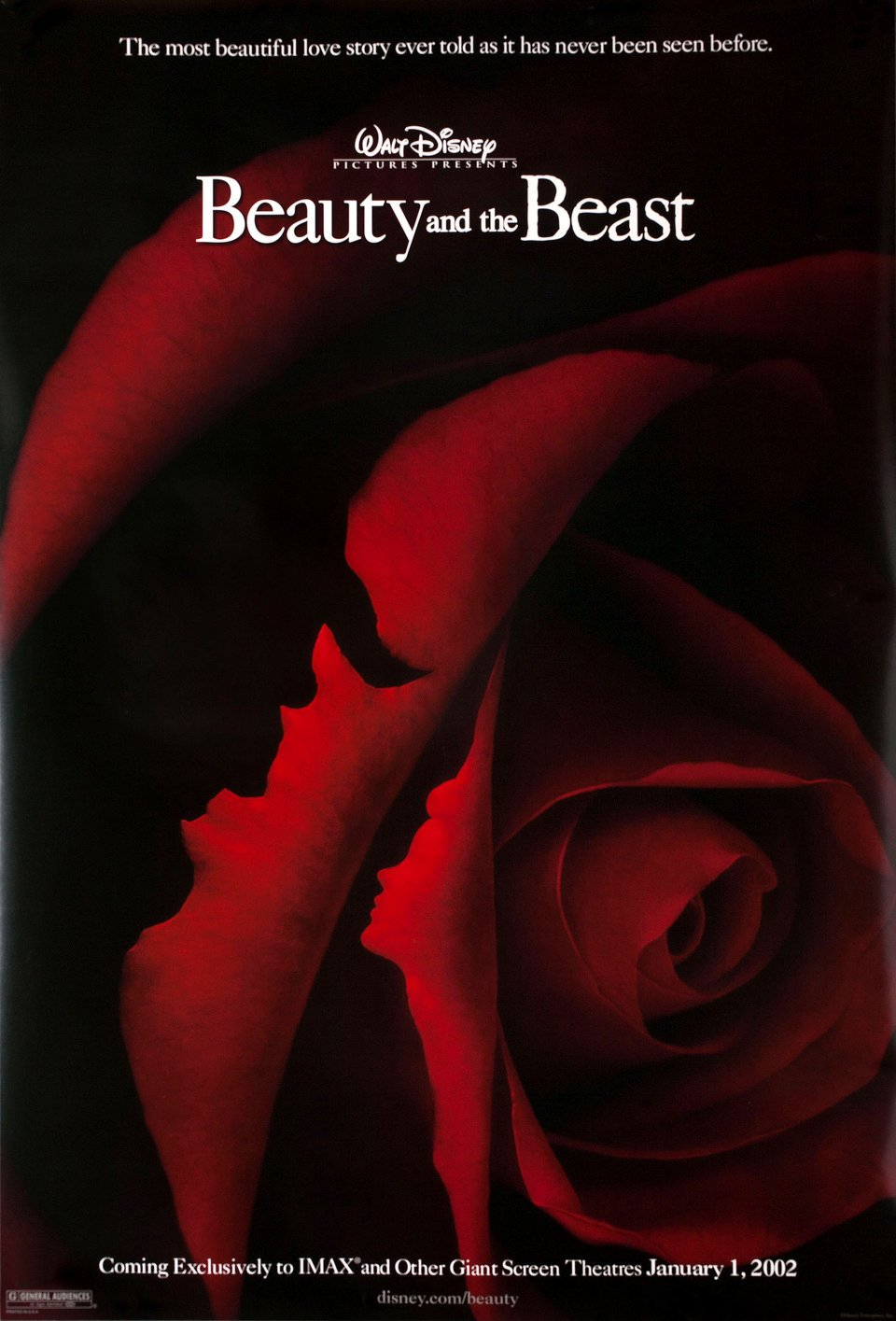 Beauty and the beast r2002 us one sheet poster at amazons beauty and the beast r2002 us one sheet poster at amazons entertainment collectibles store izmirmasajfo