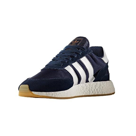 adidas Originals Iniki Runner I-5923, BB2092. Zapatillas Para Hombre Marino. Sneaker Boost (43 1/3 EU, Collegiate Navy/White/Gum)