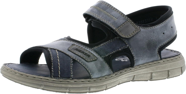 RIEKER Schuhe Sandale 25153-47 grau NEU