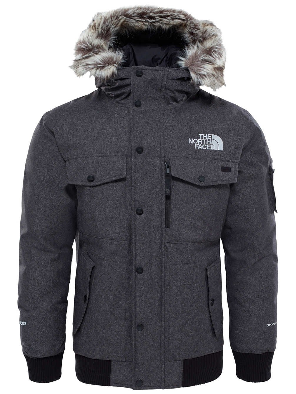 the north face men 39 s gotham plush winter jacket coat with hood 190850792931 ebay. Black Bedroom Furniture Sets. Home Design Ideas