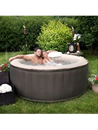 est5868 4person inflatable portable hot tub with storage bag