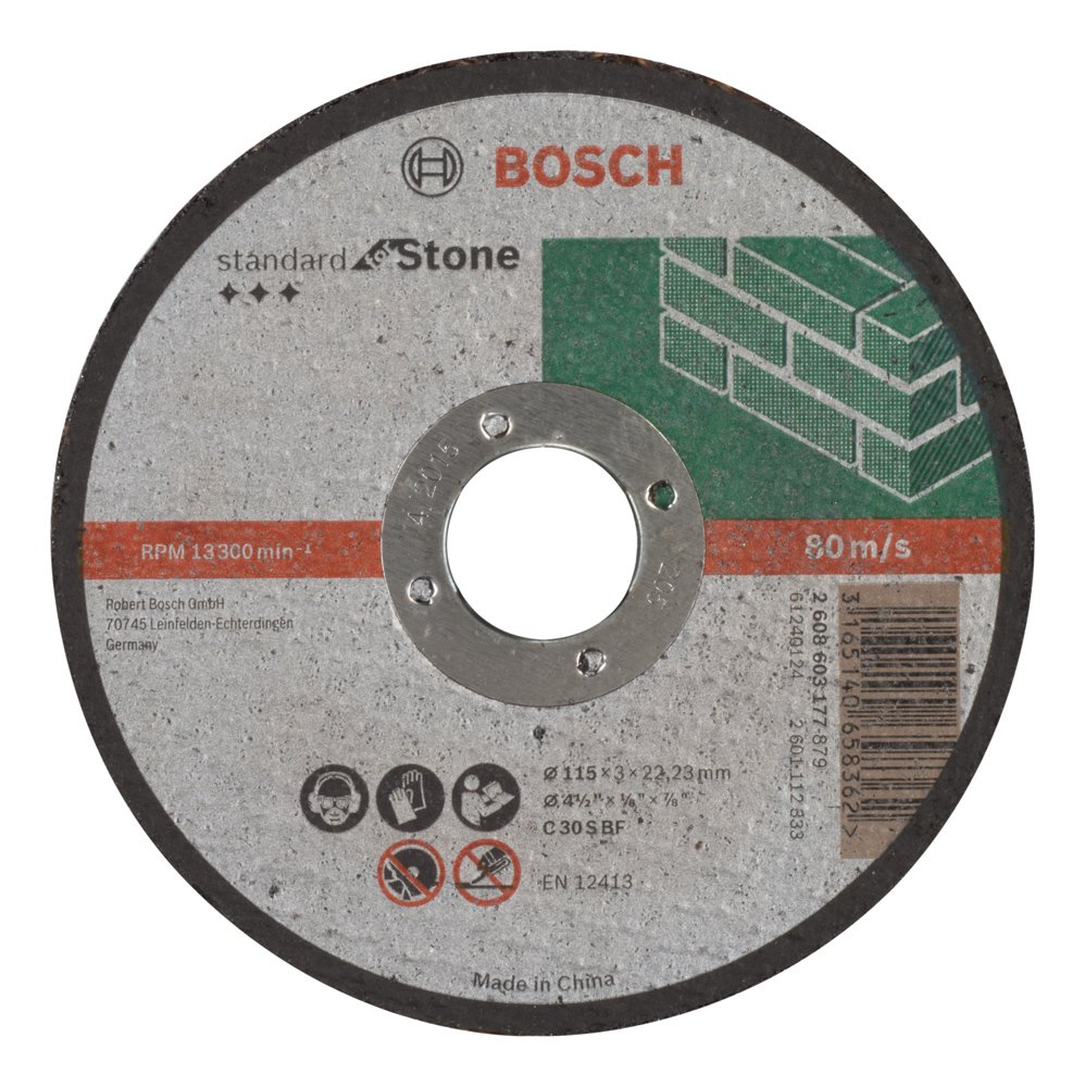 Bosch 2608603177 Standard for Stone Straight Cutting disc