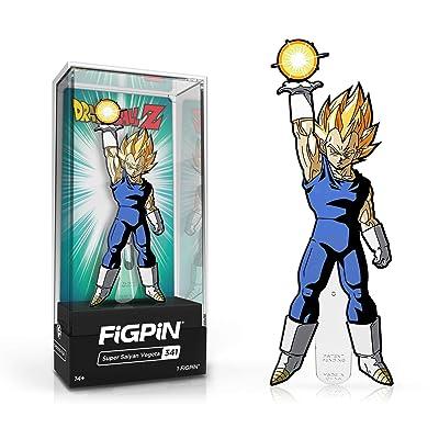 FiGPiN Super Saiyan Vegeta 341 Dragon Ball Z - Collectible Pin: Toys & Games