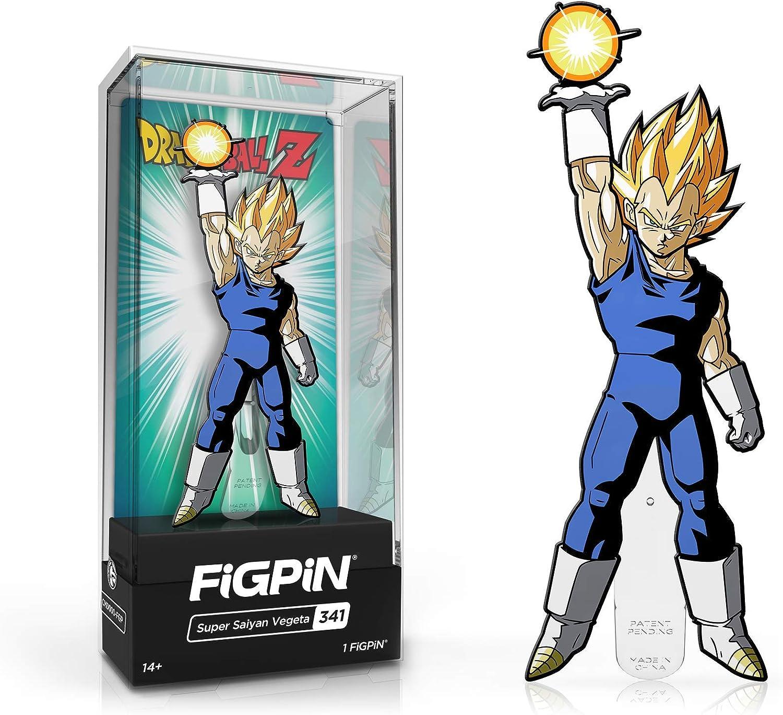 FiGPiN Super Saiyan Vegeta 341 Dragon Ball Z Collectible Pin
