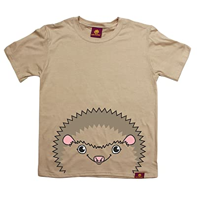 123t Kids Ani-Mates Hedgehog Premium KIDS T SHIRT Ages 3-13