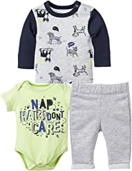 8b73a1322d OFFCORSS Baby Boy Outfit Joggers Onesie and Sweater Conjuntos para Bebes