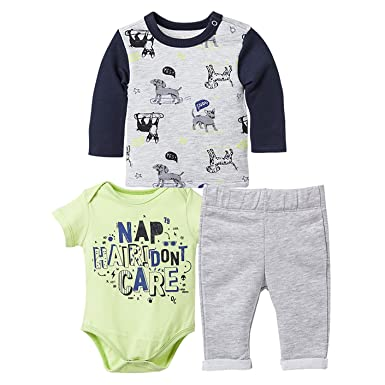 OFFCORSS Baby Boy Outfit Joggers Onesie Sweater Ropa De Bebe Gray 0-3 Months e30ec9c42