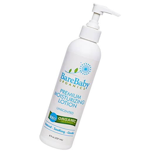Organic Baby Lotion - For Normal, Dry or Sensitive Skin