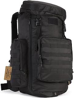 ArcEnCiel 70-85L Large Capacity Tactical Travel Backpack MOLLE Rucksack Outdoor Travel Bag for Travelling
