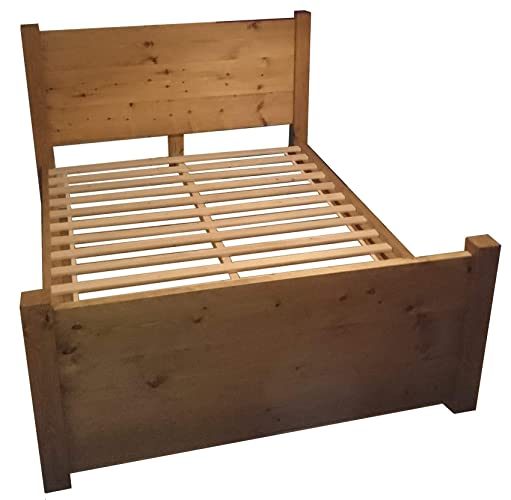 Wood Panel Bed Frame