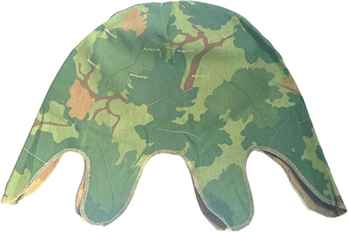 Amazon Com Vietnam War Us Mitchell Helmet Cover Soldier Camouflage Reversible Splinter Camouflage Large Clothing