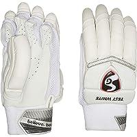SG Batting Gloves SG Test White LH Leather Left Hand Batting Glove (White)