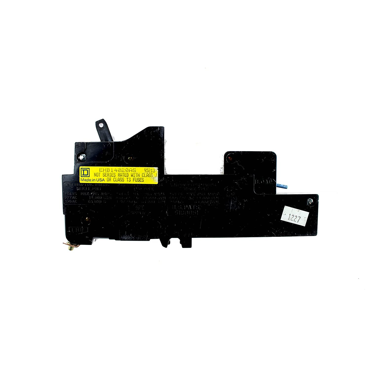 Square D Ehb14020as Remote Control Circuit Breaker 20a 1 Pole For Multiple Appliances Homemade 277v Miniature Breakers