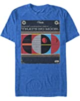 Star Wars Death Star Program Mens Graphic T Shirt
