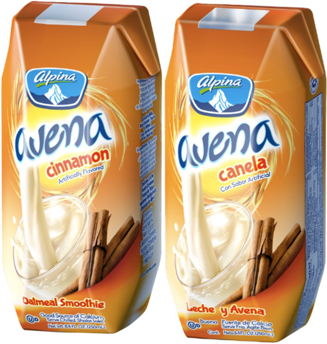 Amazon.com : Alpina Oat-based Smoothie/alpina Avena Cinnamon Pack of 24 of 8.4 Oz : Grocery & Gourmet Food