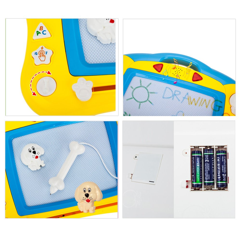 Kids Colorful Magnetic Drawing Board Happytime 2018 Large Colorful Erasable Drawing Doodle Writing Sketching Magnetic Board Toys for Kids BABY ART PARK