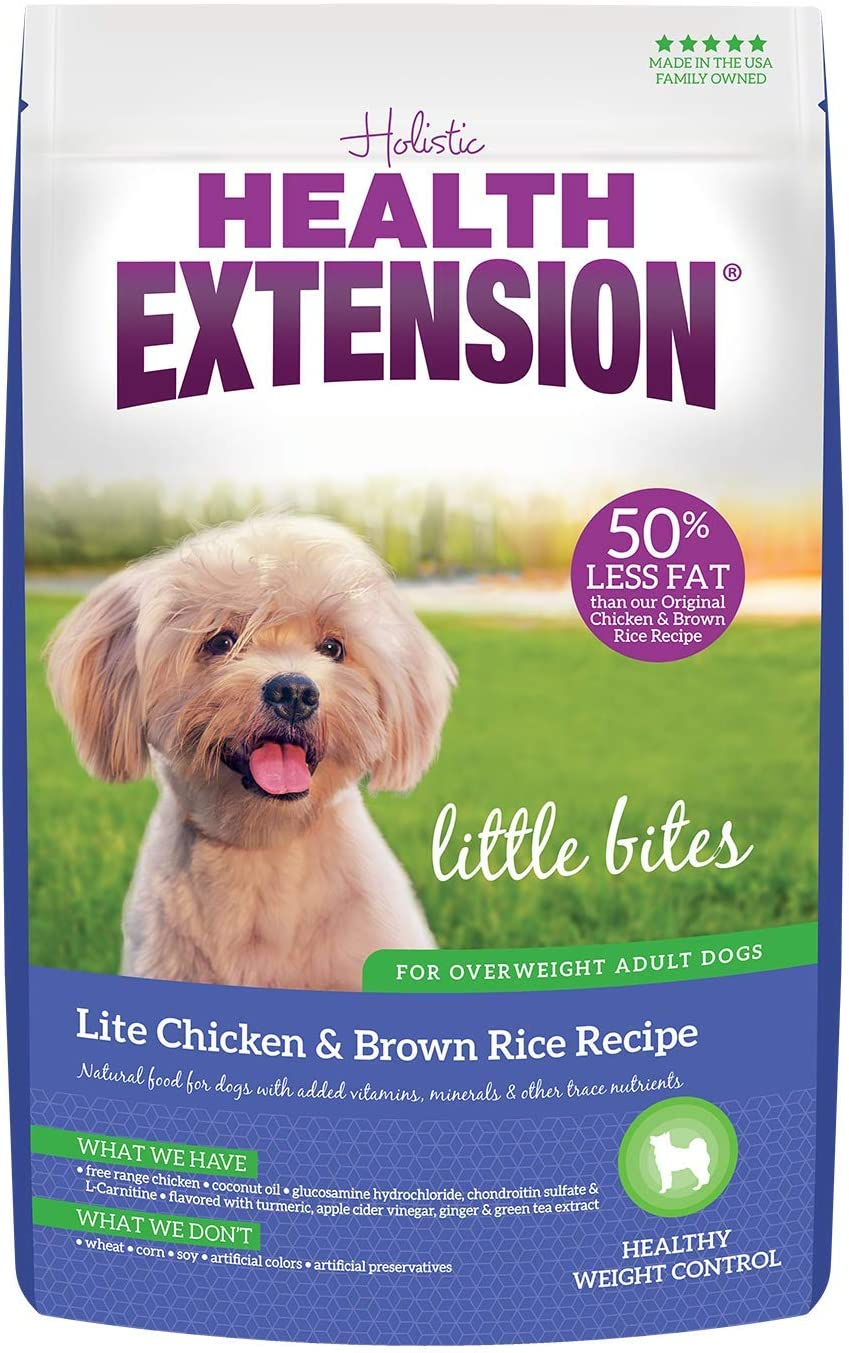 Health Extension Little Bites Lite Chicken & Brown Rice Recipe, 4-Pounds