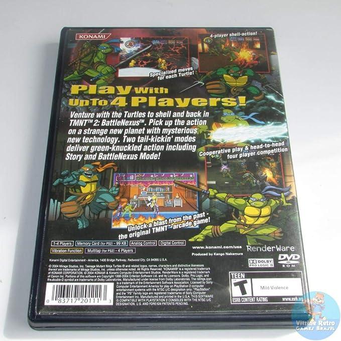 Teenage Mutant Ninja Turtles 2 / Game [Importación Inglesa ...