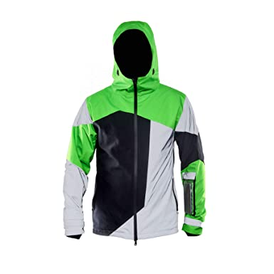 4fe5d0d66 Amazon.com: POP - High Visibility Cycling Jacket for Urban Bikers ...