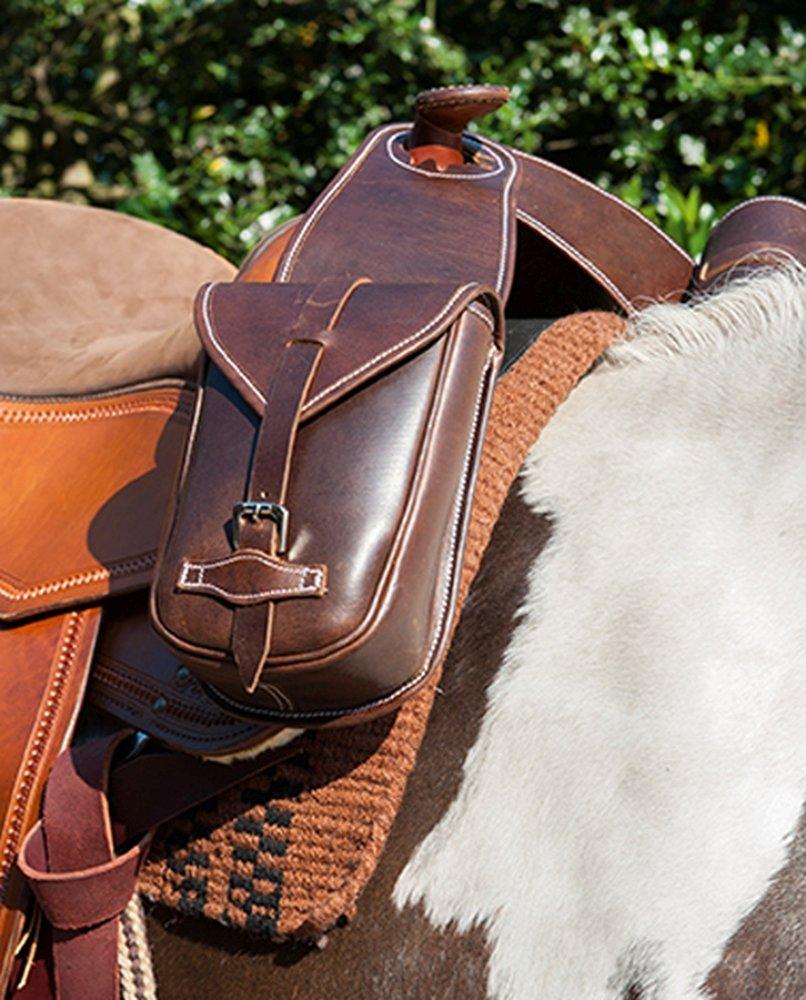 Dark Brown dark brown Western Horn Bag