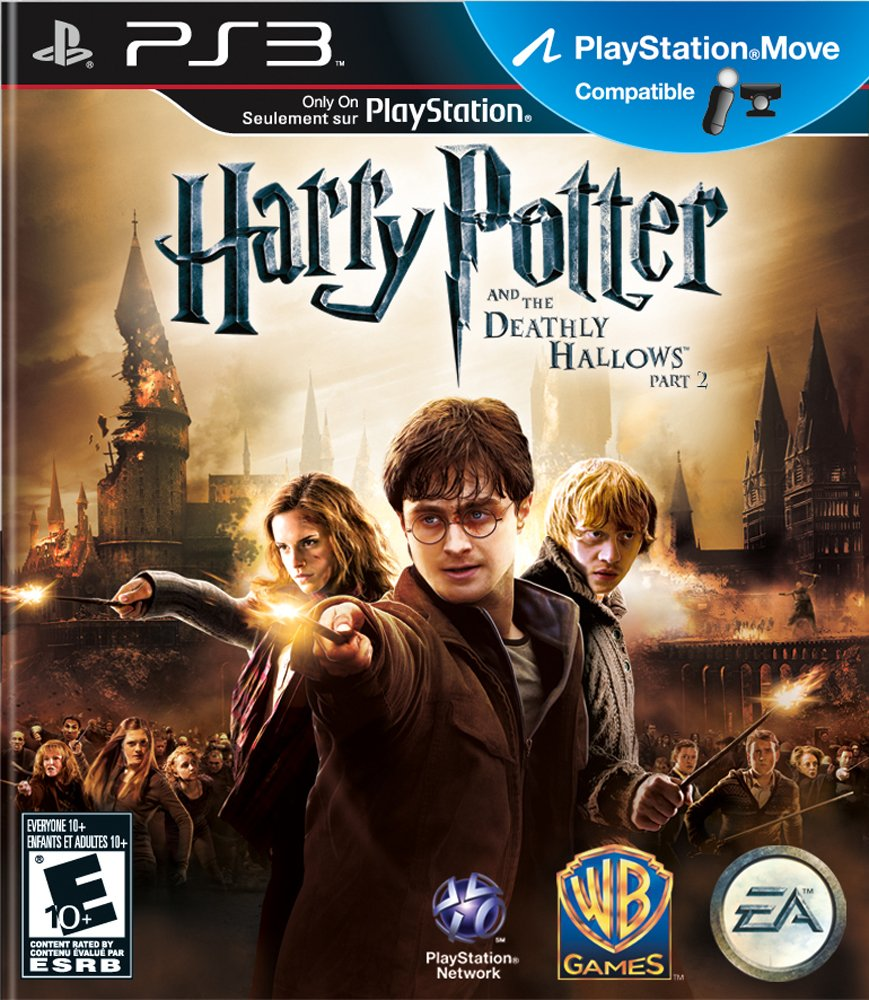 Amazon Com Harry Potter And The Deathly Hallows Part 2 Playstation 3 Video Games
