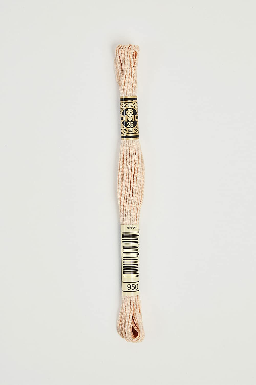 DMC Thread Six Strand Embroidery Cotton 8.7 Yards Medium Burnt Orange 117-946 Bulk Buy 12-Pack