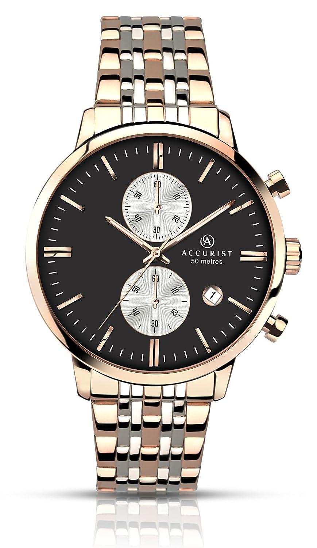 Accurist Herren-Armbanduhr Chronograph Quarz 7077.01