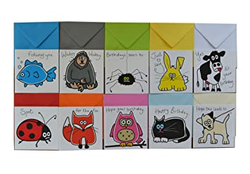 SPECIAL OFFER1 2 Price 9 X Pack Of Unisex Birthday Cards