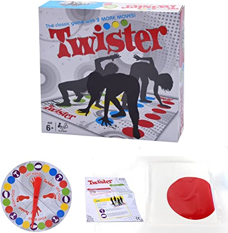 Twister Games 2018 Twister - Juego de mesa para familia y fiestas: Amazon.es: Juguetes y juegos