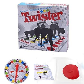 Twister Games 2018 Twister Juego De Mesa Para Familia Y Fiestas