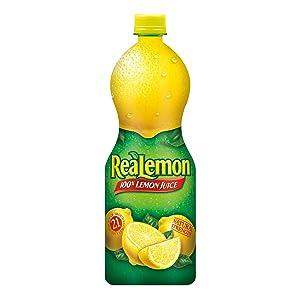 Mott's ReaLemon Lemon Juice, 32-Ounce Bottles (Pack of 12)