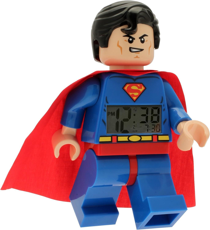 Superman Light Up Alarm Clock