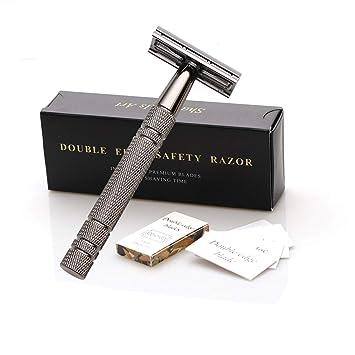 Disposable  men/'s Classic  Double Edge Chrome Shaving Safety Razor Shaver Blades