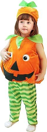 Children/'s Girl Halloween fruit dresse Pumpkin Cosplay Stage Dress Costume Dress
