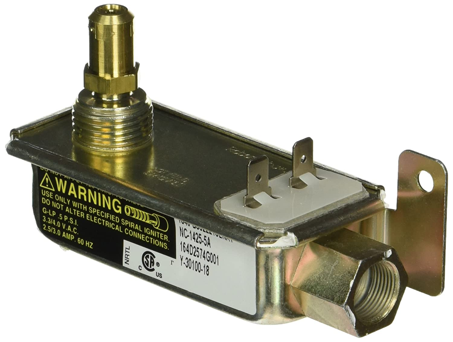 General Electric WB19K13 Oven Safety Valve
