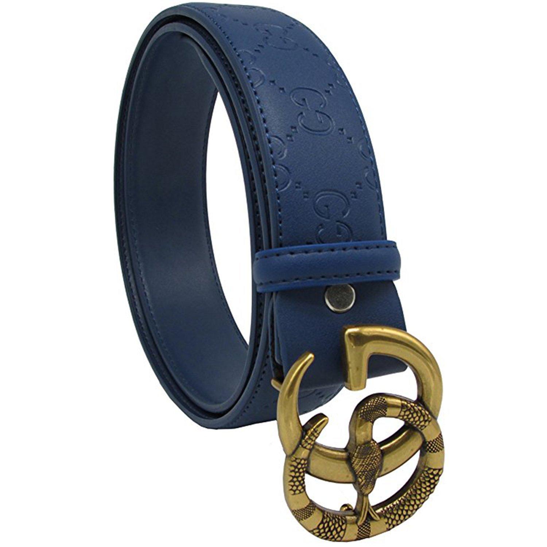 Outlet BOOPUUKON Cinturón - para hombre Azul azul Large - www ... 9695cd577f1