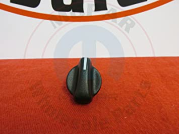 Jeep 5011218AC Heater Control Knob by Chrysler, Shift Knobs