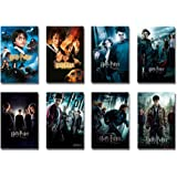 Harry Potter 1-8 - Movie Poster/Print Set (8 Individual Full Size Movie Posters - Version 3) (Size: 24 inches x 36…