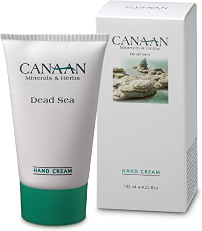 CANAAN Minerals Herbs Dry Hand Repair Cream – Dead Sea Hand Cream, Deep Moisture For Dry Hands And Cracked Skin, 4.25 fl. oz 125ml