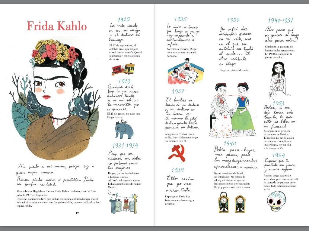 Image result for frida kahlo una biografia