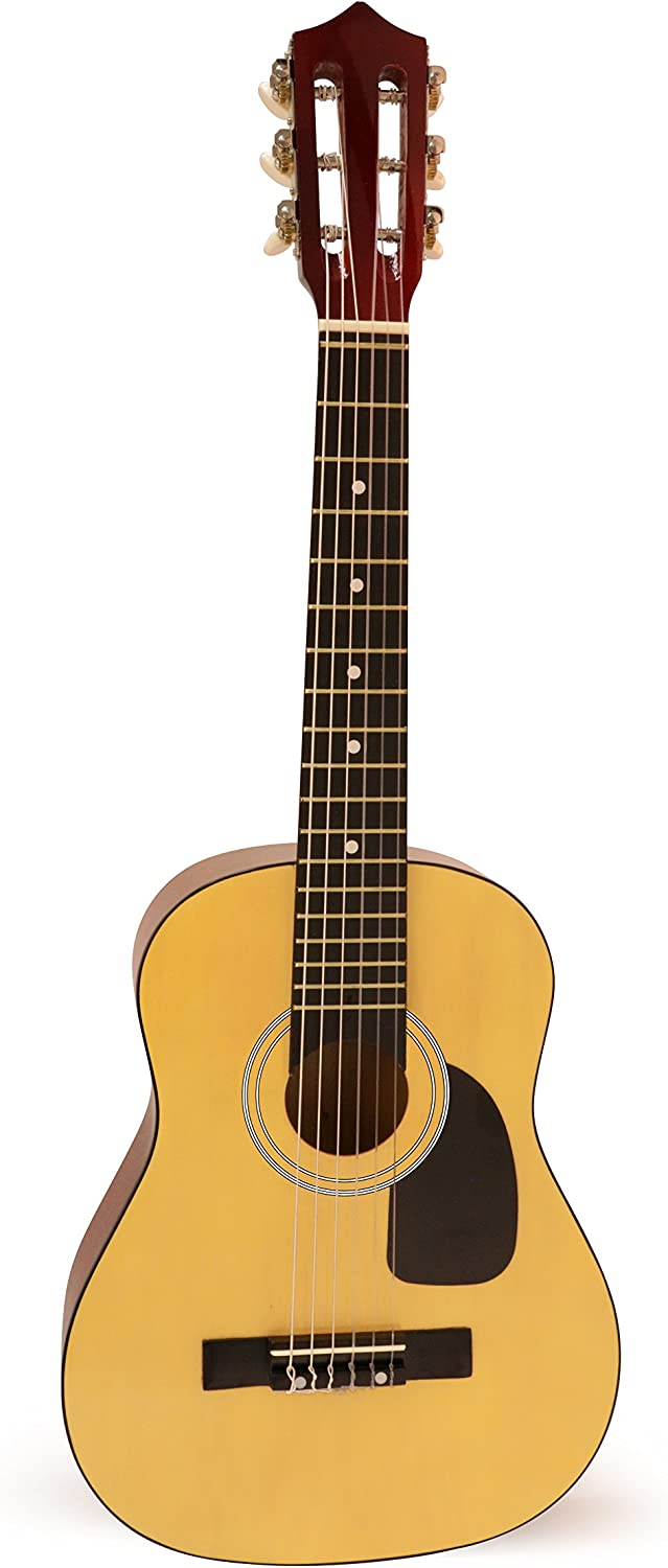 Hohner 6 String Acoustic Guitar, Right Handed, Natural (HAG250P)