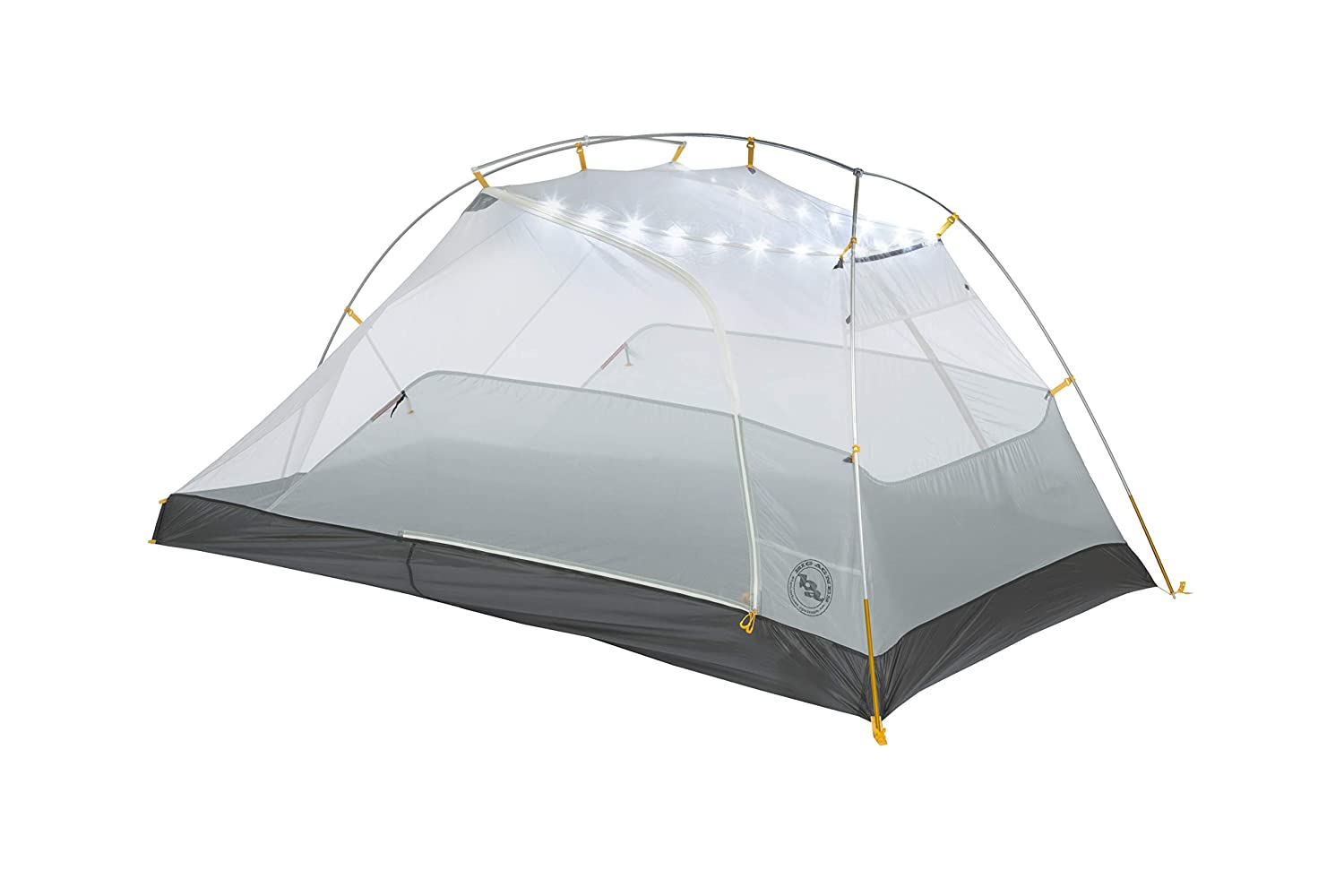 Big Agnes Tiger Wall UL mtnGLO Ultralight Backpacking Tent